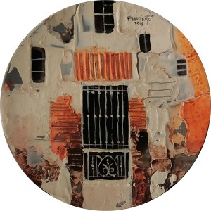 Fidel Sarmiento - Condo Series 1 Art on Plates