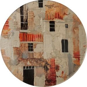 Fidel Sarmiento Condo Series 2 Art on Plates