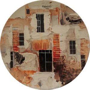 Fidel Sarmiento Condo Series 3 Art on Plates