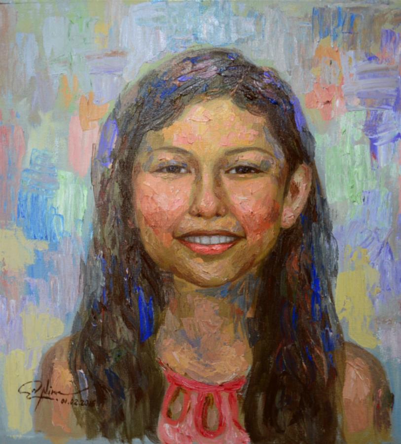 Emmanuel Nim - Precious Smiles Portraits - Portrait of Joshua Yvette